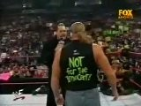 Raw Is War 01-24-2000 - Triple H, Stephanie McMahon, The Rock And The Big Show Segment Raw Is War 1.24.2000