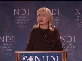 Secretary Of State Hillary Rodham Clinton Comments On Arab Spring