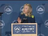 Secretary Of State Clinton&#039 S Remarks AIDS-Free Generation Specific To Africa