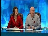 Susie Dent - Red Satin Blouse