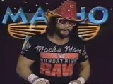 Steiner Brothers & Macho Man Randy Savage Event Center Promos