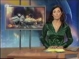 Susana Santina - Green Satin Blouse