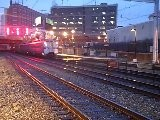 SEPTA TRAINS AT NORTH BROAD STATION