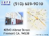 Storage In Fremont, CA