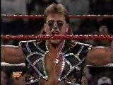 Shawn Michaels In Action + Bret Hart Owen Hart Promo