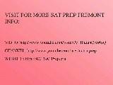 SAT Prep Fremont