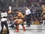 Scott Hall & Macho Man Randy Savage Vs. Lex Luger & Diamond Dallas Page