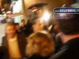 Salma Hayek, Antonio Banderas, Melanie Griffith Cenar En El Restaurante Red O