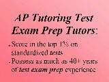 Salinas AP Test Exam Prep Tutor Salinas