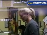 Shannon Tweed And Daughter At Nail Salon