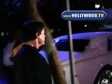 Sylvester Stallone Leaves The Staples Center
