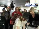 Shia LaBeouf Arrives At LAX