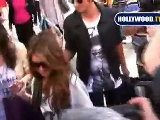 Shenae Grimes Gets Swarmed By Paparazzi On Robertson