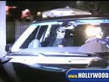 Stevie Wonder Leaving The Ivy