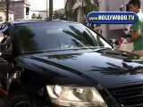Sylvester Stallone Goes To His Car In Beverly Hills