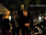 Sylvester Stallone Leaving Illpicolino