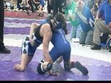 STATE WRESTLING: Double Amputee Wrestles In 2A