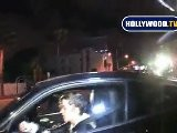 Samantha Ronson Gets Swarmed By Paparazzi