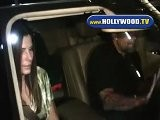 Sandra Bullock Leaves Mr Chows With Jesse James