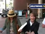 Sissy Spacek & Schuyler Fisk Draw Attention In Beverly Hills