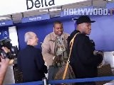 Sean Kingston Departs LAX