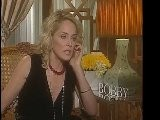 SHARON STONE GIVES THANKS TO BOBBY CAST
