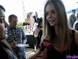 Sasha Pieterse At The 2012 Secret Room Oscars Gift Lounge