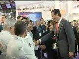 Spanish Crown Couple Attend The Opening Of 19th Food Fair Alimentaria 2012 20120326 Versi&oacute N