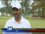 Steve Harvey Proclaims His Love For Augusta, Plays ASU Course
