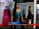 Storm Victim Gets News Prom Dress