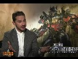 Transformers: Dark Of The Moon - Shia LaBeouf Interview