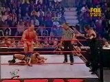 Trish Stratus And The Rock Vs Kurt Angle And Vince - RAW 12.3.2001
