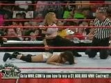 Trish Stratus Vs Nidia - RAW 9.6.2004