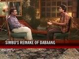 Tamil Star Simbu On Copying Salman In Osthi
