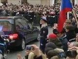 The People Of The Czech Republic Said Goodbye To Former President Vaclav Havel Friday, Peter Smith Reports From Prague