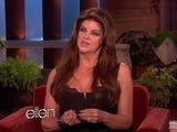The Ellen Show Kirstie Alley Gets A Tattoo On TV!