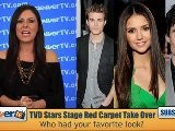 TVD&#039 S Nina Dobrev, Ian Somerhalder & Paul Wesley At The 2012 People&#039 S Choice Awards