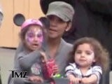 TMZ On TV Halle Berry: Scootin' Her Way Through Disneyland
