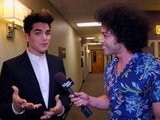 The Tonight Show With Jay Leno Backstage: Sam Worthington, Sherri Shepherd, Adam Lambert