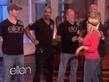 The Ellen Show Shemar Moore Gets Hot And Heavy!