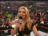 Trish Stratus Makes Fun Of Lita - RAW 11.1.2004