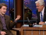 The Tonight Show With Jay Leno Daniel Radcliffe Neck Kiss