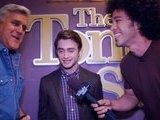 The Tonight Show With Jay Leno Backstage: Daniel Radcliffe Vanessa Hudgens Evanescence