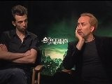 The Sorcerer&apos S Apprentice - Nicolas Cage And Jay Baruchel
