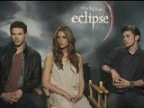 Twilight Eclipse - Ashley Greene, Kellan Lutz & Jackson Rathbone