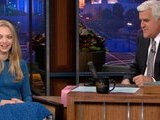 The Tonight Show With Jay Leno Amanda Seyfried As Lovelace