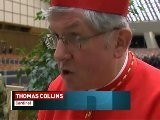 Toronto Archbishop Thomas Collins Has Been Elevated To Cardinal By Pope Benedict XVI During A Ceremony At St. Peter' S Basilica