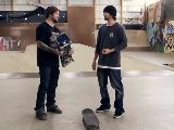 How To Skateboard With Bam Margera: Easy Tricks Pop Shove It