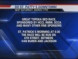 Topeka Bed Race And St. Patty&#039 S Day Parade, March 17th
