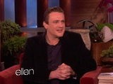 The Ellen Show Jason Segel&#039 S Oscar Wardrobe Malfunction